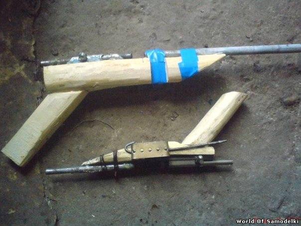 Как сделать пистолет питарду