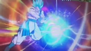 Gogeta Blue - Big Bang Kamehameha - Super Dragon Ball Heroes