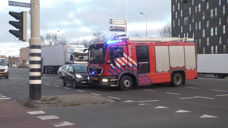 P1 Brandweer Rijopleiding Krijgt aanrijding tijdens spoedrit in Groningen!