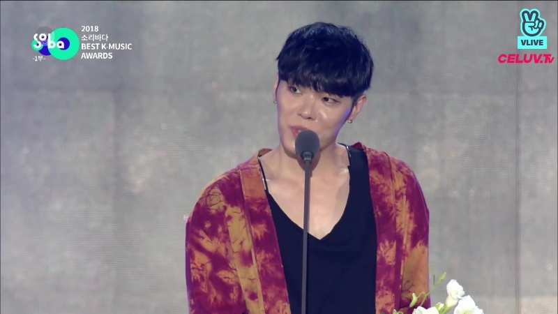 180830 Wheesung (휘성) GB9 (길구봉구) - Best Voice Award (신한류 보이스상)