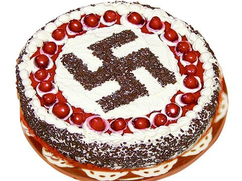 Adolf Hitler Campbell Birthday Cake