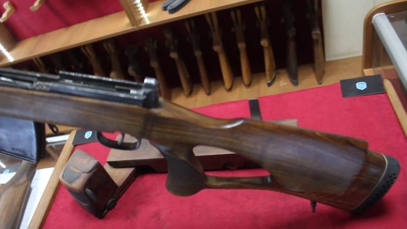 Новая индивидуальная ложа для винтовки СВТ-40 из Красного Дерева