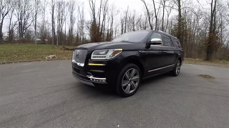 2018 Lincoln Navigator L Black Label-Walk Around Video-In Depth Review-Test Drive