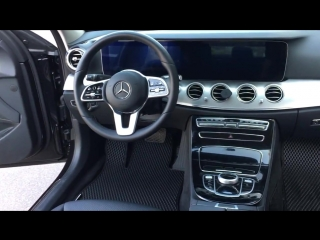 Коврики EVA для Mercedes-Benz E-klasse W213 2018