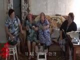 Имитация игры на гармони и балалайке с пением частушек. п. Черноотрог. ФЭЦ СПбГК