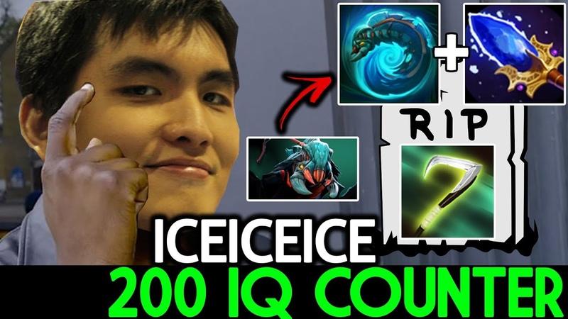 Iceiceice [Weaver] 200 IQ Counter VS Scythe Hard Game 7.19 Dota 2