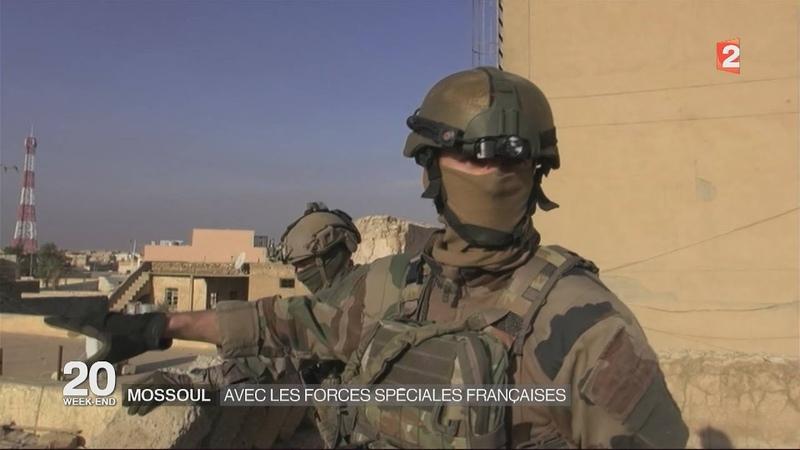 LES FORCES SPECIALES FRANCAISES : EN ACTION !.. A Mossoul IRAK . HD