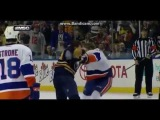 Hockey Fight 4/13/14 Nicolas Deslauriers VS Scott Mayfield