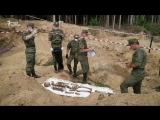 Карьер на останках погибших солдат