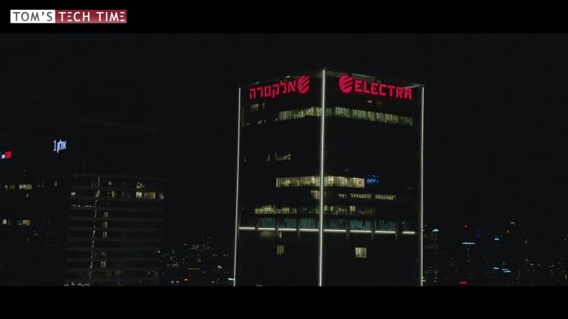 DJI Mavic Pro 2 Low-Light Test Tel Aviv @ Night
