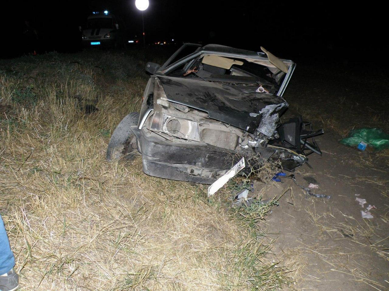 ДТП на трассе «Ростов-Таганрог»: Volkswagen столкнулся с «ВАЗ-21099»