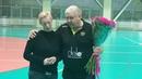 Евгений Трефилов поздравляет с днем рождения начальника сборной команды России Марию Сидорову