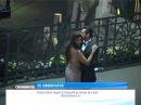 Salman Khan si Daisy Shan filmeaza pe Podul Minciunilor