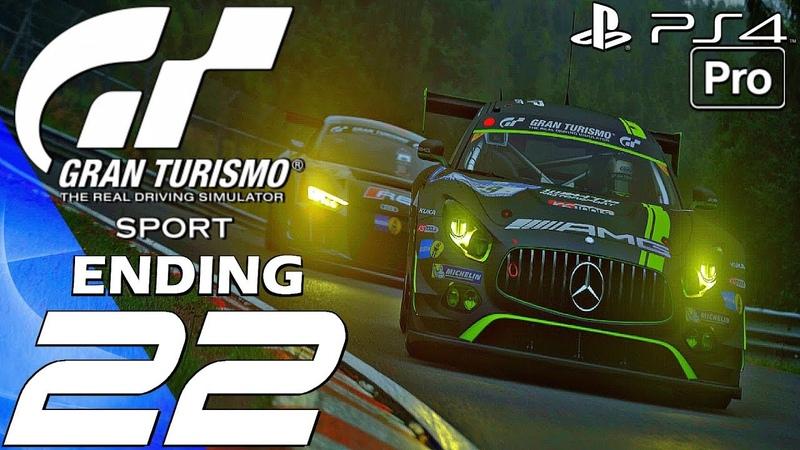 Gran Turismo Sport - Gameplay Walkthrough Part 22 - Final Race Ending (PS4 PRO)