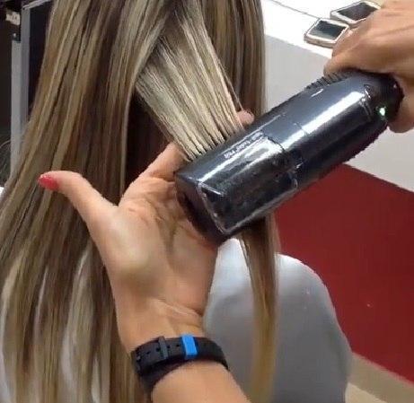 Снять сечку с волос