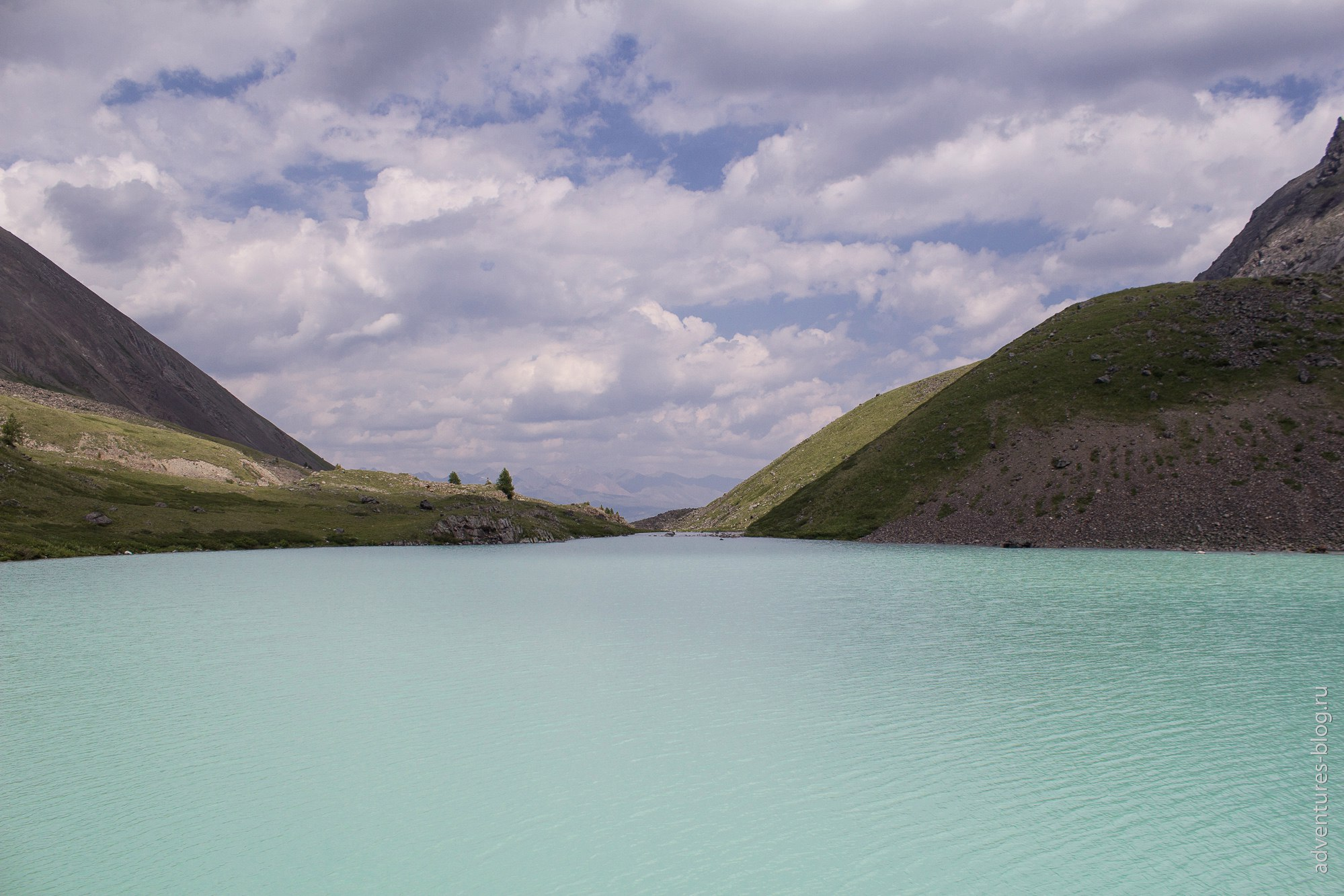 Каракабак, второе озеро