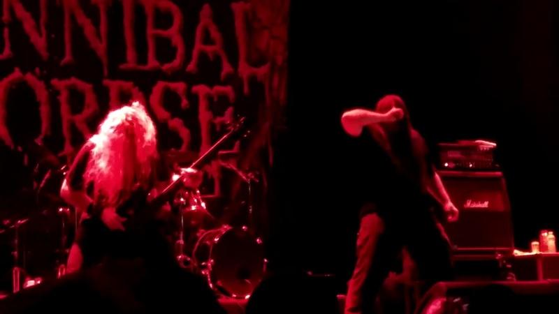 Cannibal Corpse - Only One Will Die (Circo Voador, Rio de Janeiro 14.09.2018)
