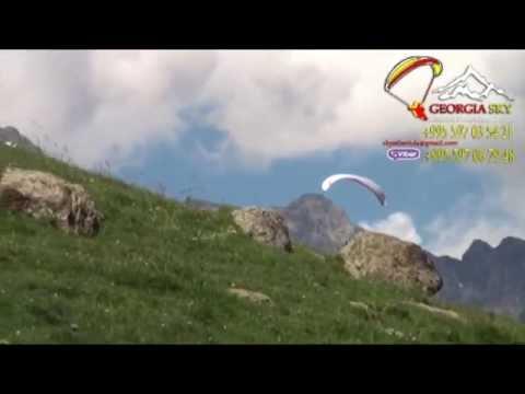 Paragliding fligth in Kazbegi and Gudauri