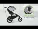 Коляска для бега Baby Jogger Summit X3. Обзор коляски для бега Беби Джоггер Саммит Х3.