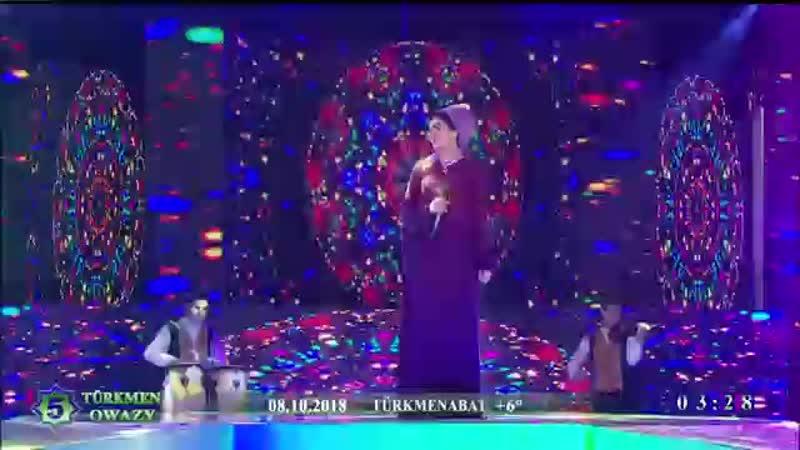 Laçyn Hudaýgulyýewa - Gara gözli ýarym - 2018 (konsert).mp4