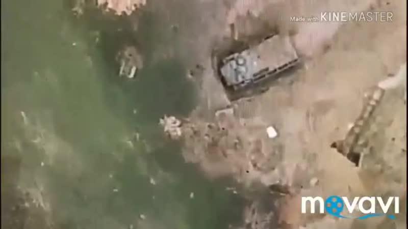Безпілотник ЗСУ скидає сюрпризи окупантам на Донбасі