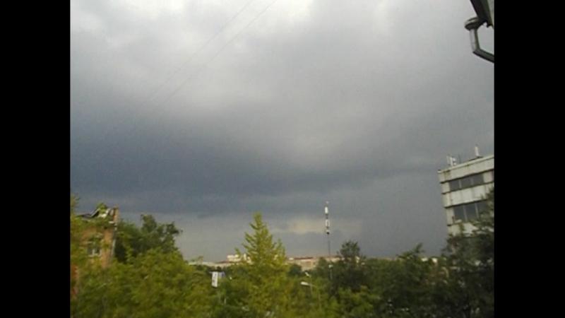 Гроза 15.07.2018 Москва ЮАО ZornPunker