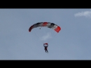 Когда учишься приземляться при боковом ветре