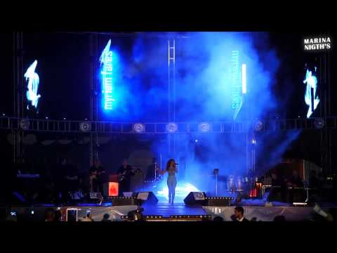 MYRIAM FARES Marina Night's 2014 Part 01