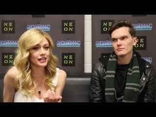 Interview katherine mcnamara and luke baine for armageddon expo