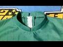 Cara menjahit kerah shanghai pada leher baju yang menggunakan resleting belakang