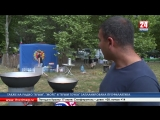 Борьба куреш, национальные песни и большой казан плова: в Симферополе с размахом отметили Сабантуй