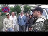 Павел Губарев - встреча российских добровольцев.