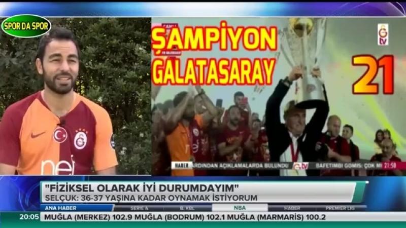 Galatasaray Kaptanı Selçuk İnan Açıklamaları 22 Mayıs 2018