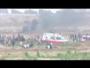 Les Palestiniens continuent de protester à la frontière de la bande de Gaza