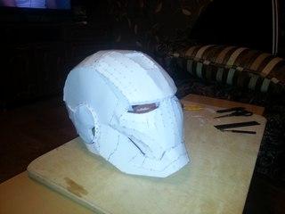 Сделать шлем дарта вейдера своими руками