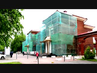 Реставрация фасада здания Пермского театра кукол