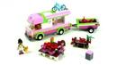 Конструктор Bela 10168 - аналог Lego 3184 Friends Оливия и домик на колесах