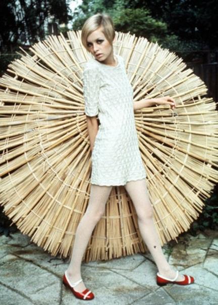 Подборка фото Лесли Лоусон в стиле Твигги. 1960-е