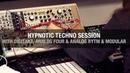 Techno session with Elektron Modular machines