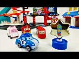 Vidéos avec les jouets. #COMPILATION avec #Robocar Poli, #voitures, #McQueen et autres