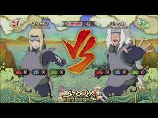 Naruto Storm 3 new DLC : Jiraya Tsunade Orochimaru , Anbu kakashi , Anbu yamat