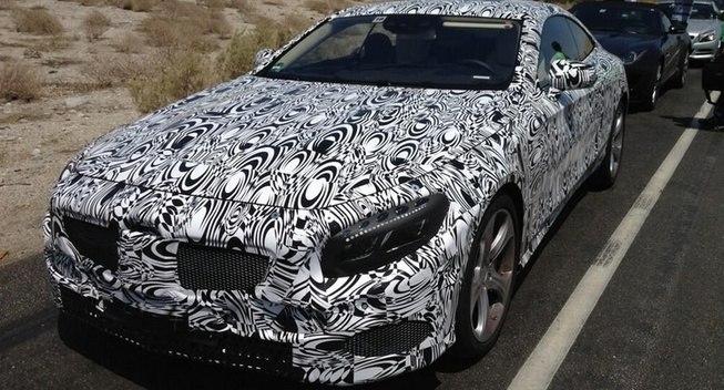 Купе Mercedes S 2014