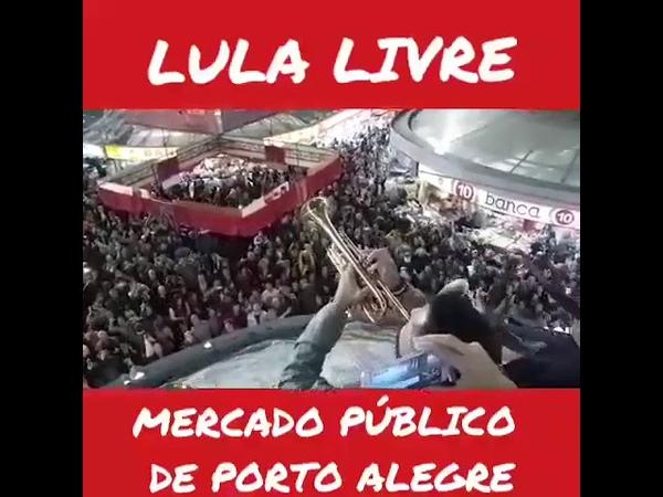 OLE OLA LULA NO MERCADO PUBLICO DE PORTO ALEGRE