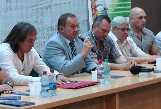 В Таганроге презентовали второй Международный фестиваль «Спорт всем миром»