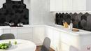 Дизайн однокомнатной квартиры в современном стиле для молодой пары