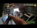 Подозреваемого в кражи расстреливают полицейские.