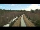 Cab Ride on Nordland line railway.spring 02