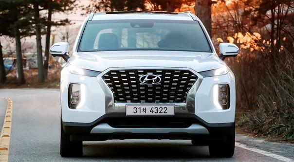 Флагманский кроссовер Hyundai Palisade получил дизель от Santa Fe. Уже в продаже.