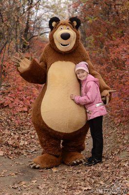 Костюм медведя из мультфильма маша и медведь