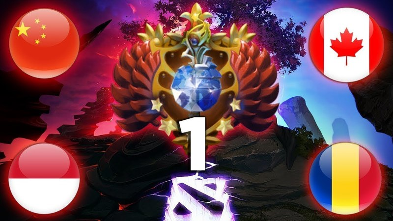 EPIC TOP 1 MMR BATTLE of ALL REGIONS - WHO IS THE BEST Arteezy vs Paparazi vs inYourdreaM vs w33 V2